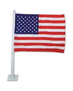 USA Clip on Car Flag