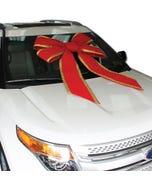 """36"""" Luxury Velvet Windshield Car Bow"""