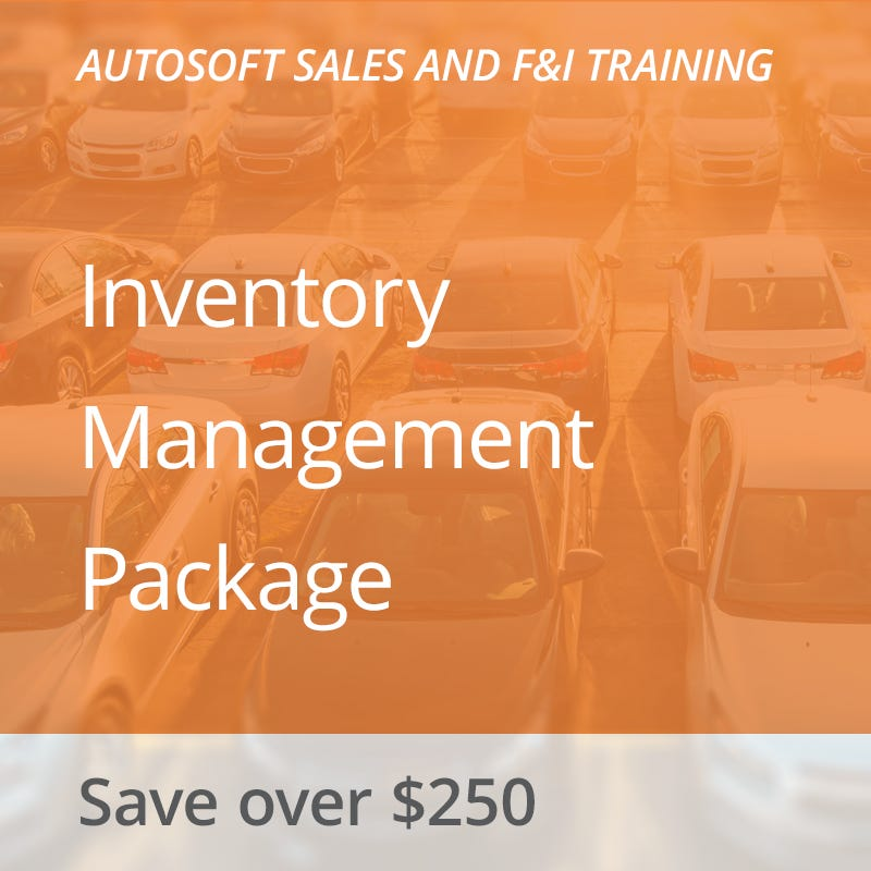 Autosoft Training: Inventory Management Package