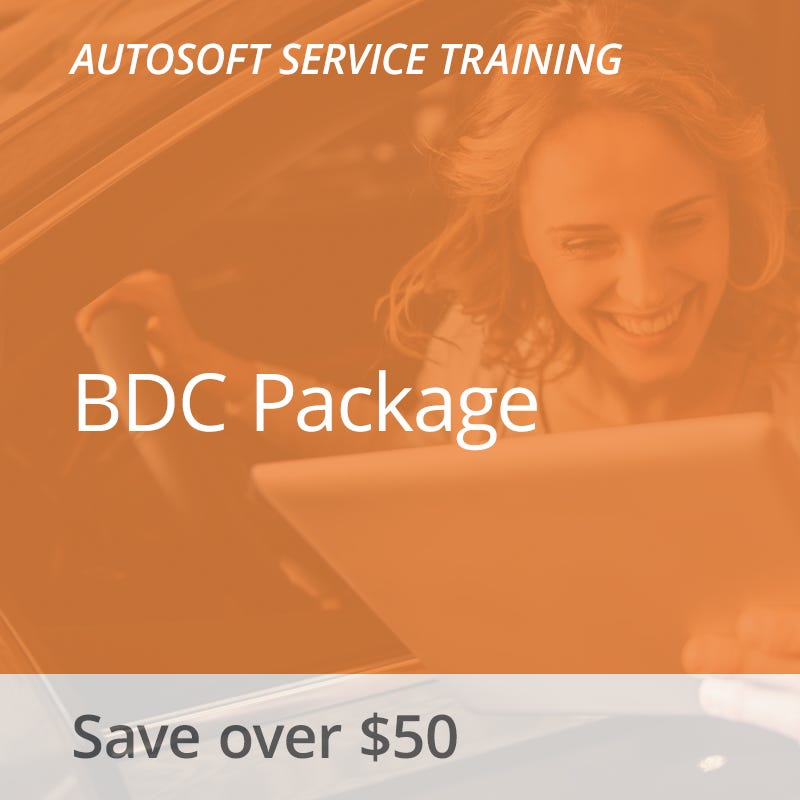 Autosoft Training: BDC Package