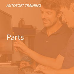 Autosoft Parts Training