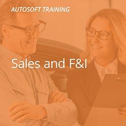 Autosoft Sales and F&I