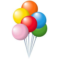 Latex Car Lot Balloons