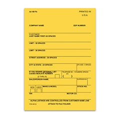 Vehicle Deal Labels