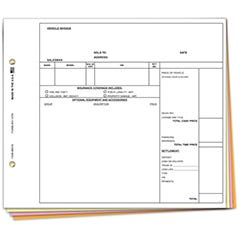 Vehicle Invoice Forms