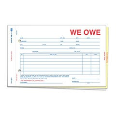 We Owe Forms