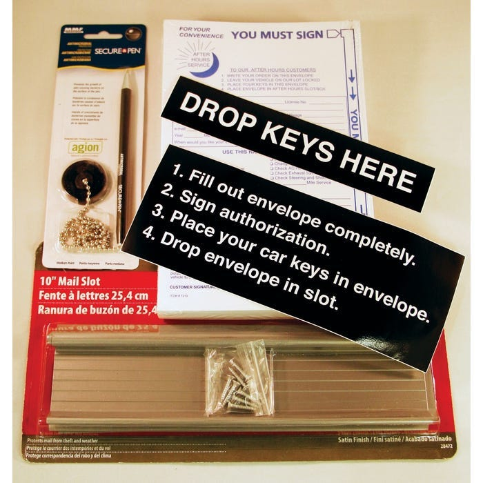 Auto Key Drop Box