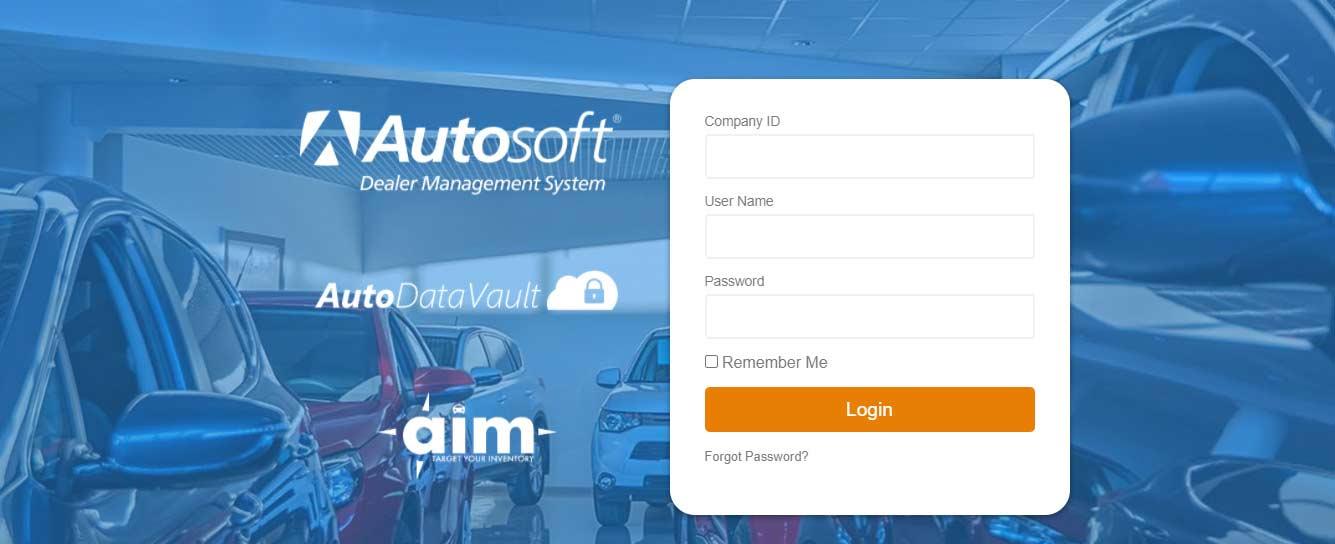 Autosoft DMS Login