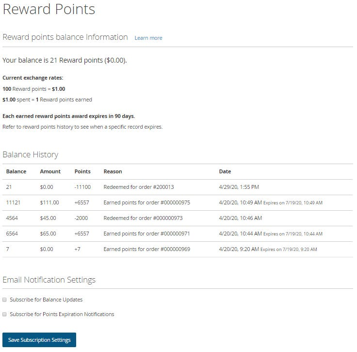 Dealermarket Reward Points Managing Loyalty Points